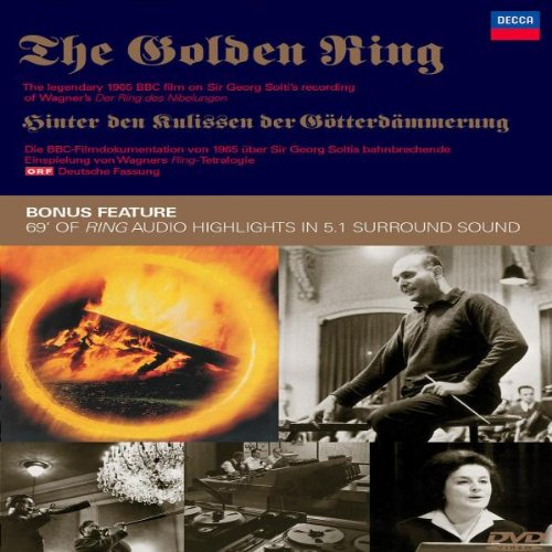 Wagner - the Golden Ring Documentary (Solti) [DVD]
