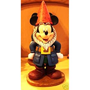 Disney Mickey Mouse Gnome Statue Garden
