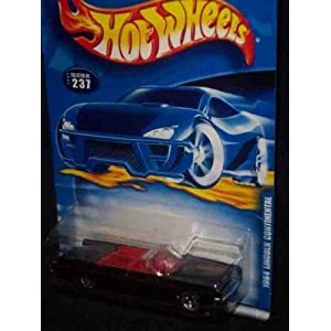 2000-237 1964 Lincoln Continental 5-Hole Wheels HW logo On Trunk Collectible Collector Car Mattel Hot Wheels