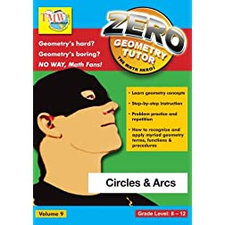 Zero The Math Hero - Circles & Arcs