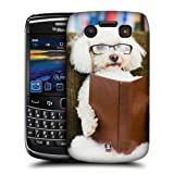 Head Case Reader Dog Glasses Funny Animals Case For Blackberry Bold 9700 9780