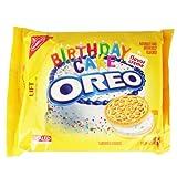 Golden OREO Birthday Cake Creme 15.25 OZ (432g)