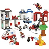 LEGO Education DUPLO Community Services Set 4646269 (130 Pieces)