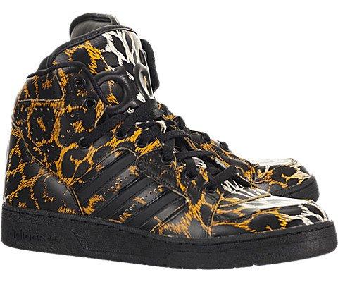 Adidas Jeremy Scott Instinct High Leopard – Black / Leopard Print, 6 D US