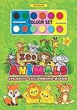 Splashy Colouring Book: Zoo Animals