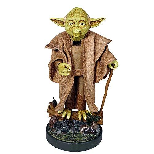 Santa's Little Helper Collection 12-Inch Star Wars Yoda Nutcracker