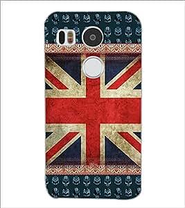 PrintDhaba UK Flag D-3063 Back Case Cover for LG NEXUS 5X (Multi-Coloured)