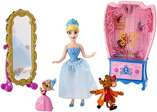 Disney Princess Little Kingdom Cinderella Doll and Furniture Playset