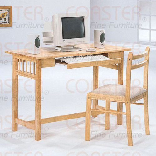 Buy Low Price Comfortable Wood Computer Desk with Chair (B003XR86WQ)