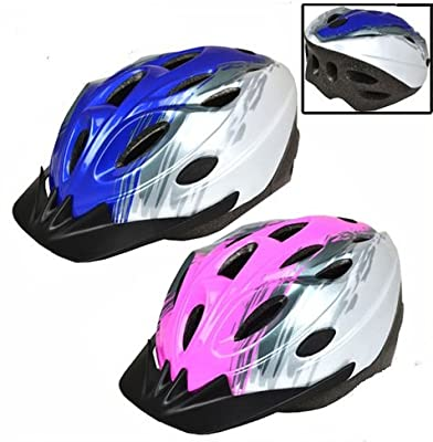 Mens Womens Mountain Bike Bi Cycle Helmets Bicycle Adjustable Adults Boys Girls by TOOL-GENIUS LTD