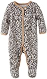 Calvin Klein Baby-girls Newborn Animal Print Stretchie Coverall