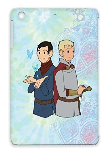 Merlin Durable Navy Cover Case For Ipad Mini Chibi Cartoon Art Design Knights Arthur Pendragon Magic front-656537