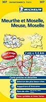 Carte DPARTEMENTS Meuse, Meurthe-et-Moselle, Moselle