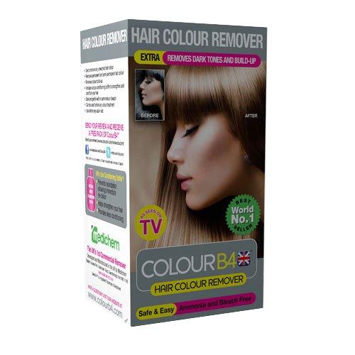 colour b4 dcolorant cheveux elimine les erreurs de colorations pour couleurs fonces - Eclaircir Cheveux Colors