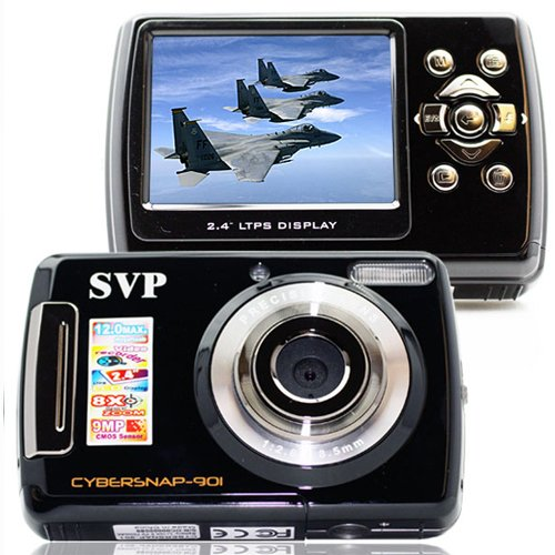 NEW 9.0 MP High Resolution Full-Motion Digital Black Video Camcorder / STILL CAMERA