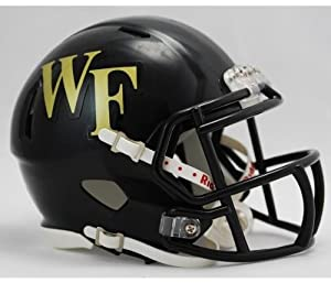 Buy NCAA Wake Forest Demon Deacons Speed Mini Helmet by Riddell