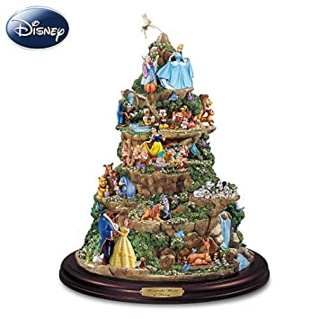 #!Cheap The Wonderful World Of Disney Sculpture: Tabletop Disney Decoration by The Bradford Editions