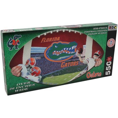 NCAA Florida Gators Football Shaped Puzzle