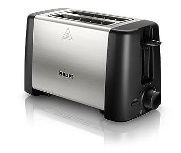 Philips HD4825/91 800-Watt 2-Slice Toaster (Black)