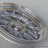 DZ Exklusiv DZ1 8,5x17 ET30 LK 5 x 112 5 x 120 Doppellochkreis Silber Poliert mit Klarlack 17 Zoll Stufentiefbett
