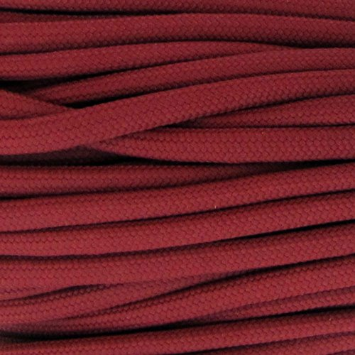 Paracord Planet Nylon 550lb Type III 7 Strand Paracord Made in the U.S.A. -Crimson-