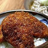 越前そばの里 ソースカツ丼 (ヒレカツ×6枚 ソースカツ丼用ソース1本) 22573