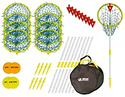 Park & Sun Super Loop 9 Disc Golf Target Hoop Set with Carry Bag