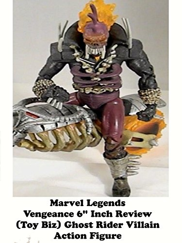 "Marvel Legends VENGEANCE Review 6"" inch (Toy Biz) ghost rider action figure"