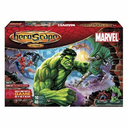 Hasbro Heroscape Marvel Game Set by Hasbro (English Manual)