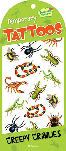 Peaceable Kingdom / Creepy Crawlies Temporary Tattoos front-508844