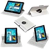 Etui Luxe Rotatif fonction Reveil\Sommeil pour Samsung Galaxy Tab 5 10.1 + Stylet et Film Inclus