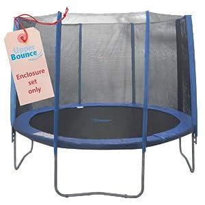 Upper Bounce 8 Pole Trampoline Enclosure Set, 10-Feet