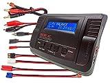 おもちゃ B680AC CAR Dual Power (6Amps 80Watts): LiPo LiIon LiFe NiCd NiMh AC/DC Balancing Battery Charger w/ Deans T-Plug Traxxas High Current Tamiya/Kyosho/Molex HXT4.0mm Bullet Redcat EC3/EC-3 Pl...