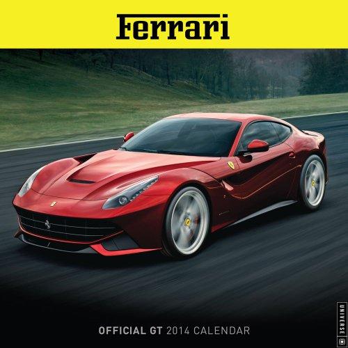 Ferrari Official GT 2014 Wall Calendar