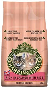 Harringtons Complete Cat Rich in Salmon with Rice 2 Kg