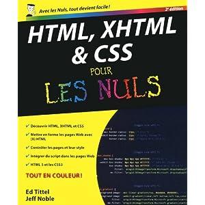 Html xhtml et css pour les nuls: Amazon.fr: Ed Tit...