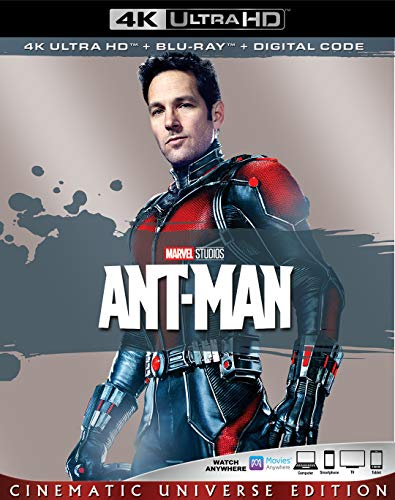 4K Blu-ray : Ant-man (2 Discos)
