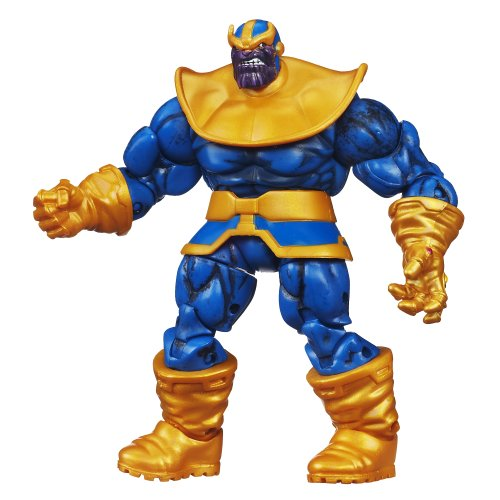 Marvel Universe Series 5 Action Figure #10 Thanos 3.75 Inch (Marvel Legends Nemesis Series compare prices)