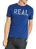 Marc O'Polo Camiseta Manga Corta (Azul)