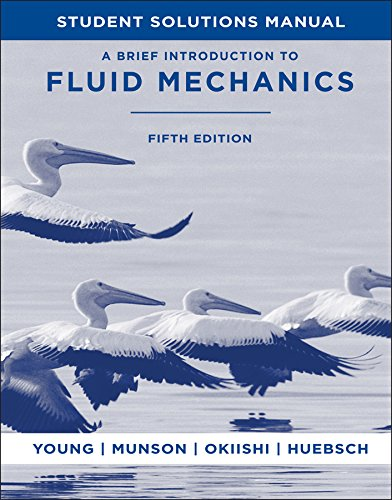 A Brief Introduction To Fluid Mechanics, Student...