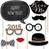 New Years Eve Party - Photo Booth Props Kit - 20 Count