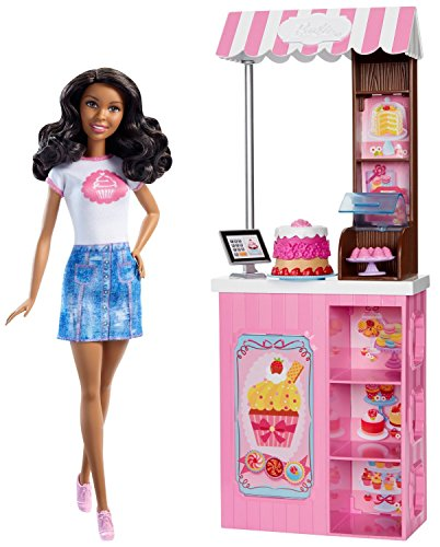 Barbie Careers Bakery Shop Playset with African-American Doll (Owning A Bakery compare prices)