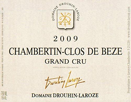 2009 Drouhin-Laroze - Chambertin Clos De Beze Grand Cru Burgundy 750 Ml