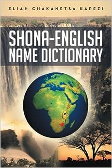 shona to english dictionary pdf