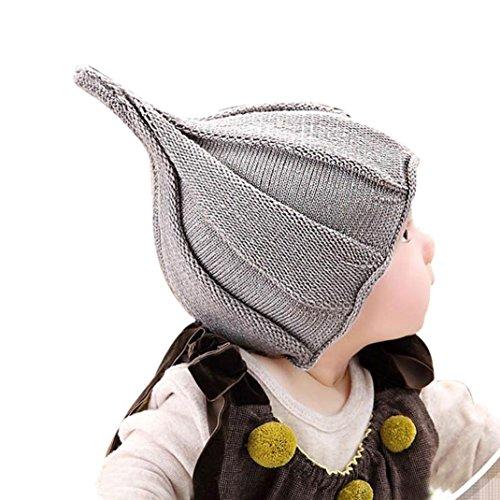Culater® Bambino Bambini Cappelli Cappello invernale autunno (Grigio)
