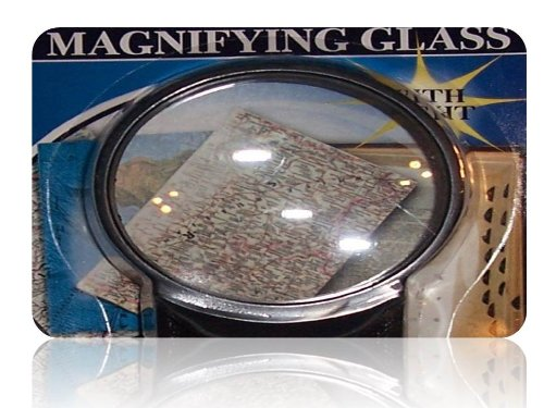 Lighted Magnifying Glass - 1