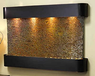 Adagio SSS1504 Sunrise Springs - Rajah Natural Slate Wall Fountain