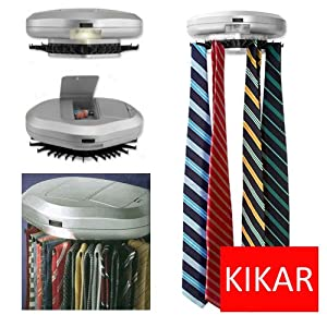 Amazon Com Kikar Electric Motorised Tie Rack Wall