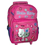 Hello Kitty Large Rolling Backpack Roller with Wheels Picture