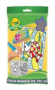 Crayola Beginnings Colour Wonder On-The-Go Colouring